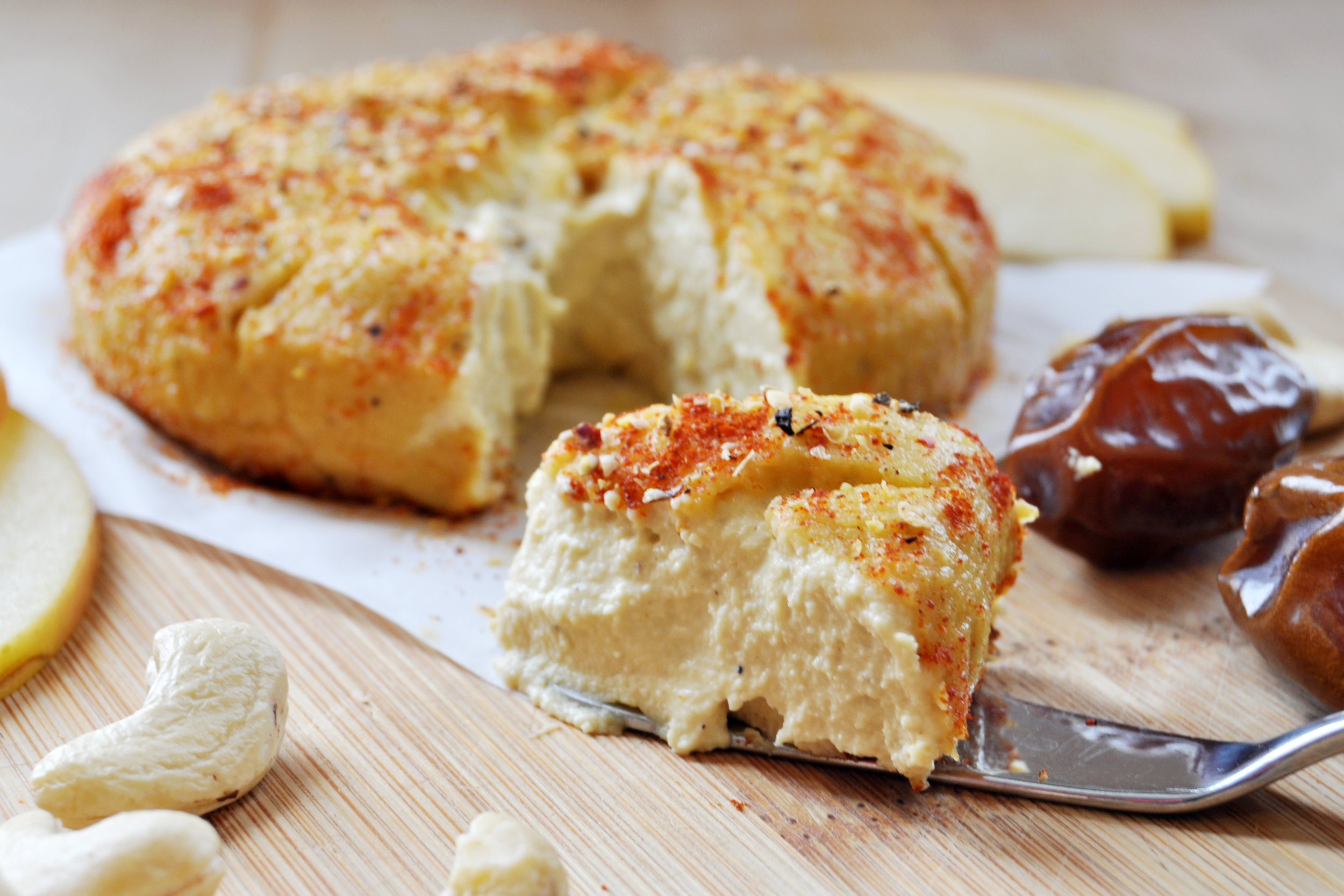 This baked cheese will do wonders for your next cocktail party. Photo by  The Colorful Kitchen