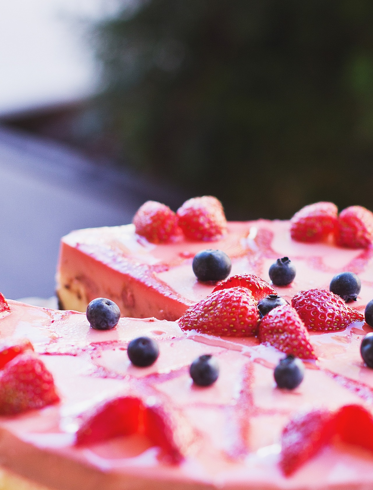 This creamy cashew based cheesecake is easy to pull together. It's also fashionably tinted pink thanks to fresh strawberries. Make sure you plan this one in advance - once all of the ingredients are combined, it needs time to sit in the freezer for a few hours to set up. Trust us, adhering to the recommended chilling time will reward you through and through.