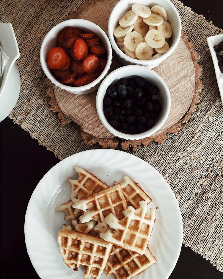 Vegan Vanilla Waffles