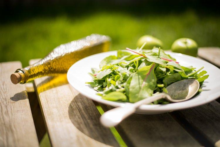 Greens with Lemon Vinaigrette