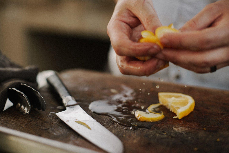 Butter Lettuce with Lemon Caper Dressing