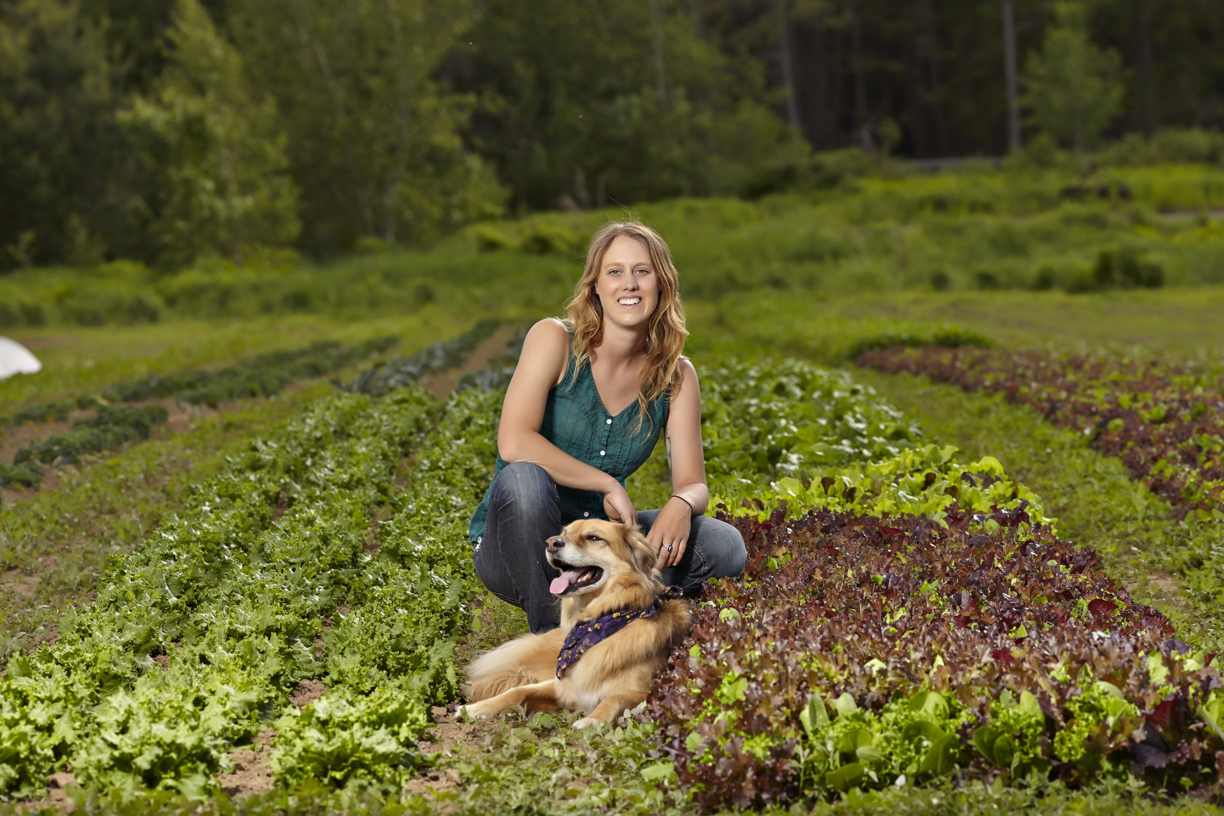 Acadia Tucker is a New Hampshire-based farmer, gardener, and author of  Growing Perennial Foods: A field guide to herbs, fruits, and vegetables ( Stone Pier Press) .