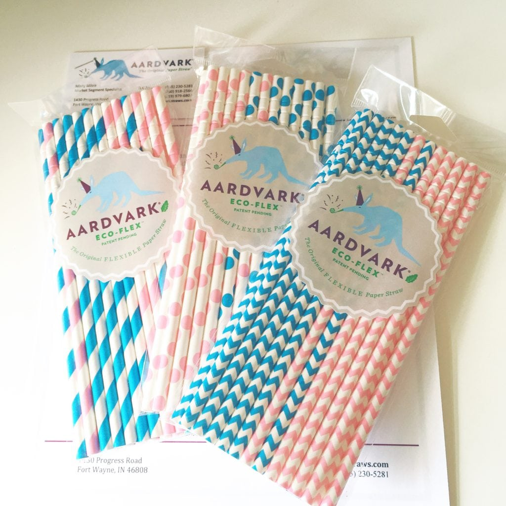 Better paper straws:  A downside to paper straws is that they're prone to getting soggy. Not Aardvark straws! These paper straws last two to three hours in a drink. Other benefits: They break down in marine environments within six months and can be customized with logos and designs for restaurants intent on transitioning away from using plastic.   Recommended Brand:    Aardvark     Photo Credit:  Jasmine Maria