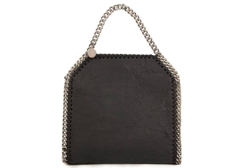 Designer Stella McCartney partnered with Bolt Threads to produce a bag made with mushroom-derived leather  Source: Bolt Threads