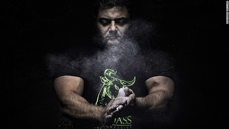 Where does weight-lifter Patrik Baboumian get his protein? Plants. Credit: Deftigman Obscura