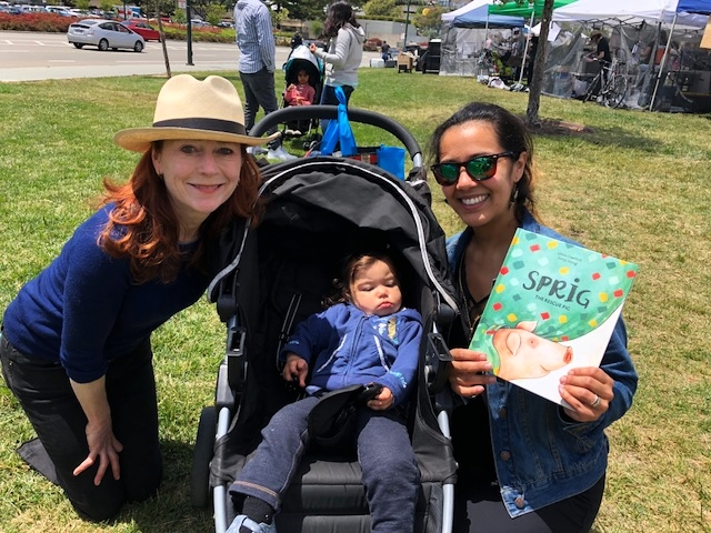 OAKLAND VEGFEST | MAY 2018  Leslie Crawford meets a real-life Rory (and her mom Tammy) at  Oakland VegFest .