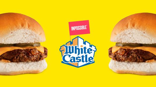 White Castle is partnering with Impossible Foods to add plant-based options to the menu.  Photo source