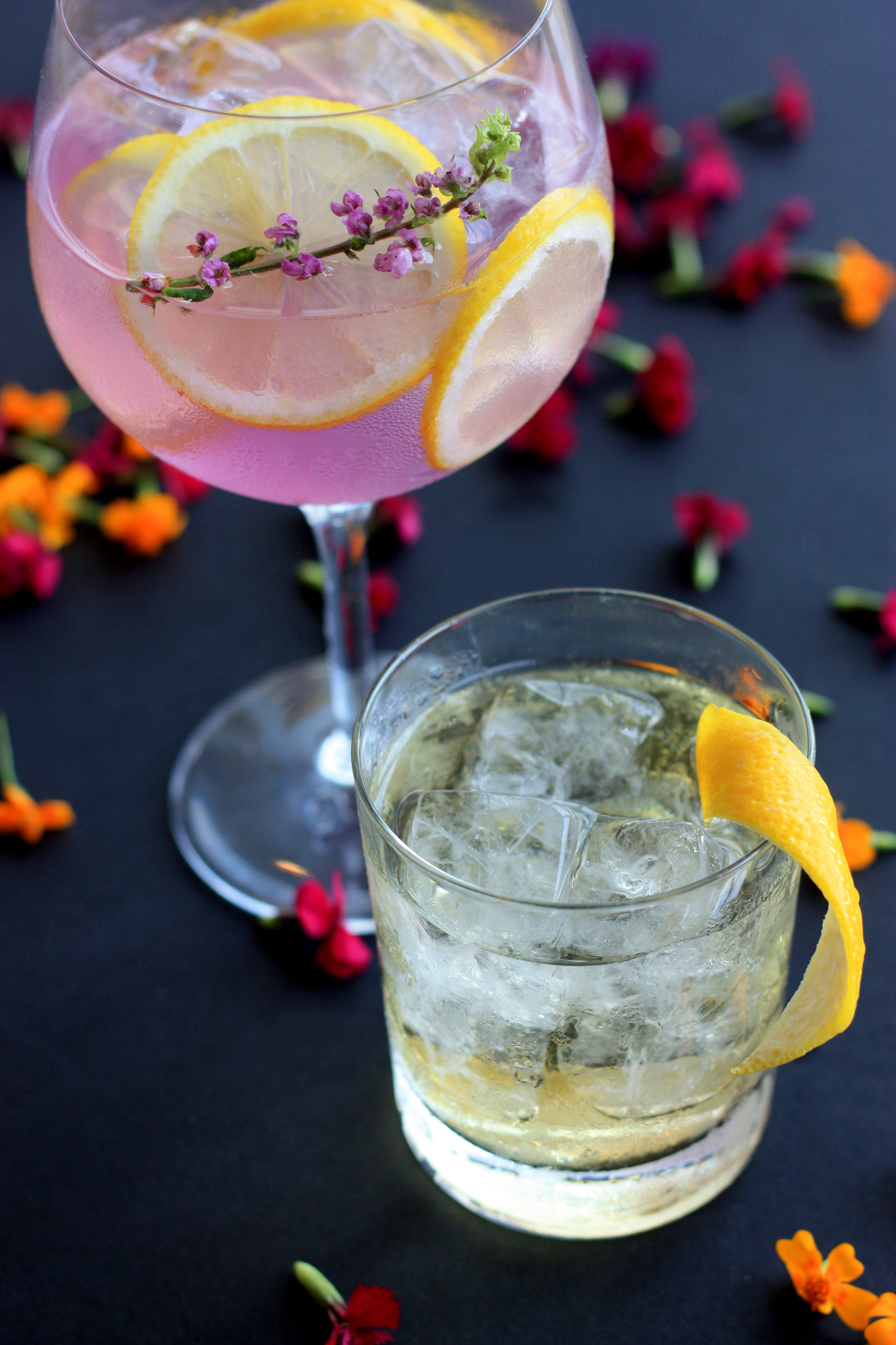 A touch of lavender elevates lemonade into something special. Enjoy it on its own or use as a base for cocktails.
