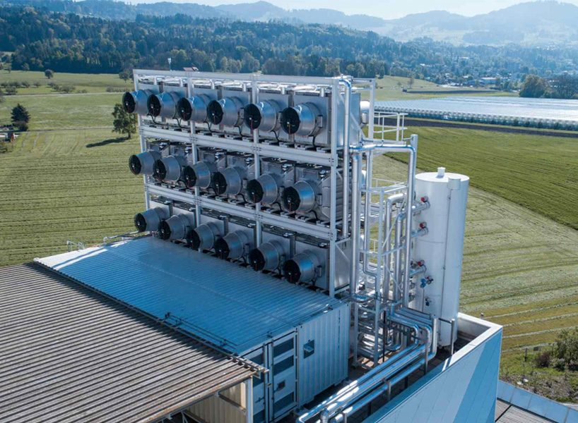 Climeworks can capture around 900 tons of carbon dioxide annually with this one plant alone.