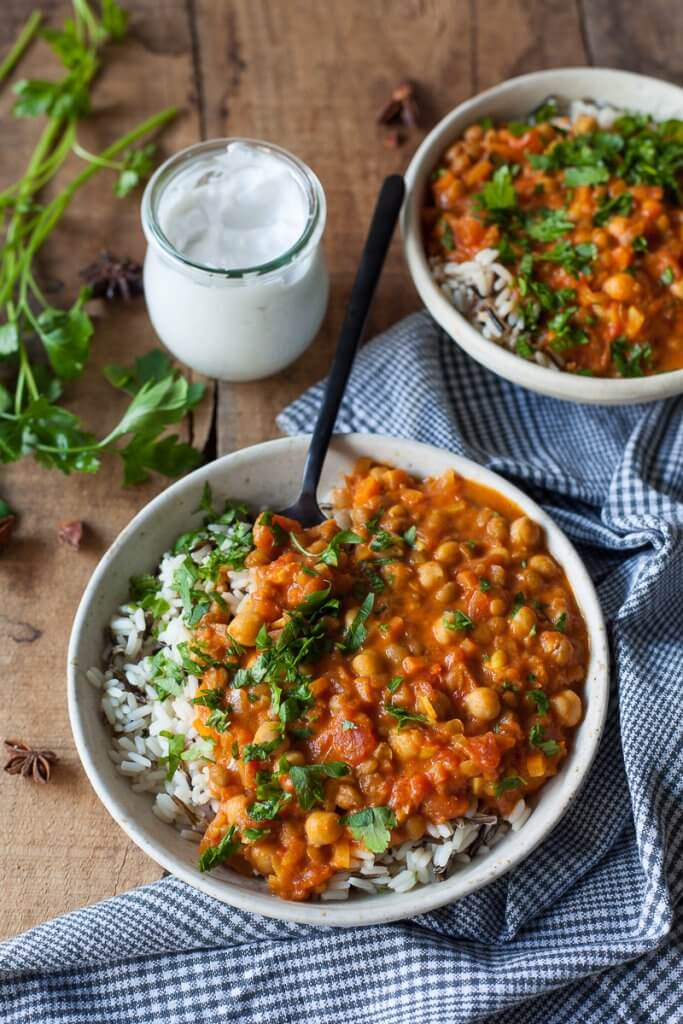 Don't be afraid to try different curries. They are versatile but easy to replicate once you get this recipe down.  Photo credit:  Vibrant Plate