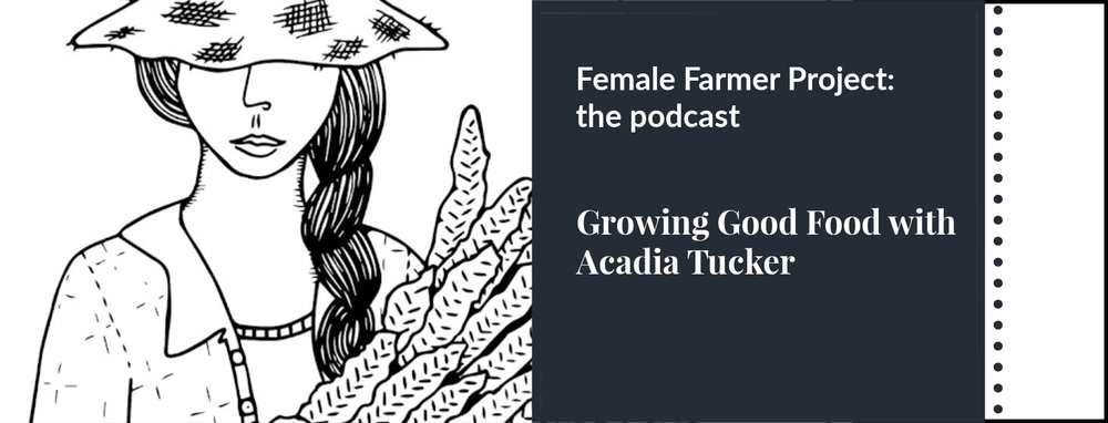 As part of a multi-platform documentary project highlighting the rise of women in agriculture, Audra Mulkern hosts conversations with female farmers.