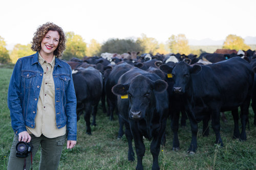 Female Farmer Project founder Audra Mulkern uses film and podcasting to tell the stories of the many women now growing food for a living.  Photo source.