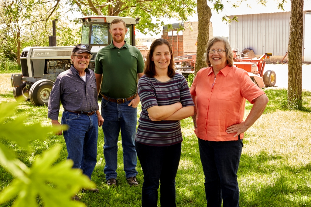 The Gilberts agree that working with Niman Ranch has been positive for their business.