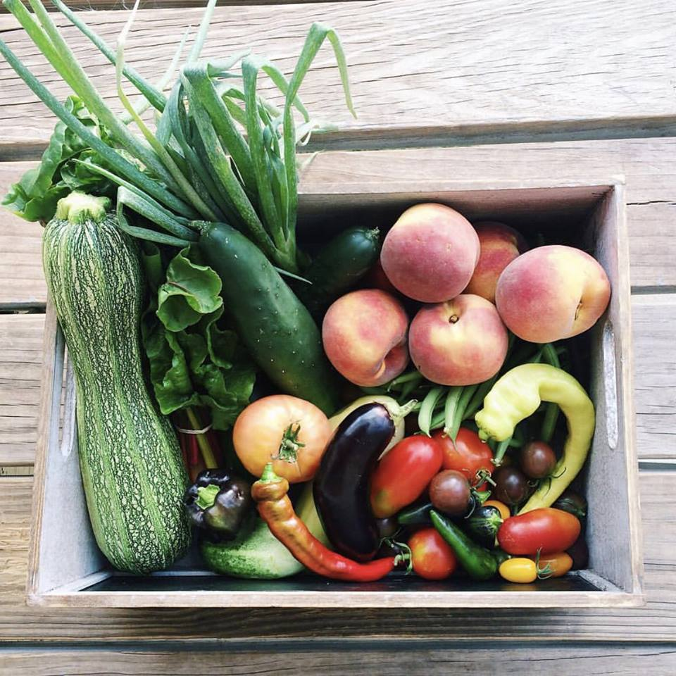 A CSA is a great way to avoid the grocery store and cook using ingredients you haven't tried before.  Photo Source.