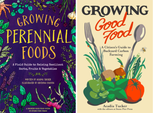 This recipe is excerpted from  Growing Perennial Foods: A field guide to raising resilient herbs, fruits & vegetables , by climate activist and farmer Acadia Tucker. In the book, she lays the groundwork for tending an organic, regenerative garden. For her, this is gardening as if our future depends on it, and she spells out why. The book includes profiles of 34 popular herbs, fruits, and vegetables, along with recipes. The companion book is  Growing Good Food: A citizen's guide to backyard carbon farming . On  sale  now.