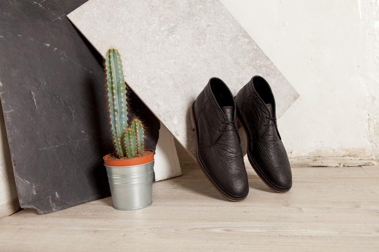 Shoes made without leather are becoming more popular, among non-vegans  and  vegans. Source:  Bourgeois Boheme