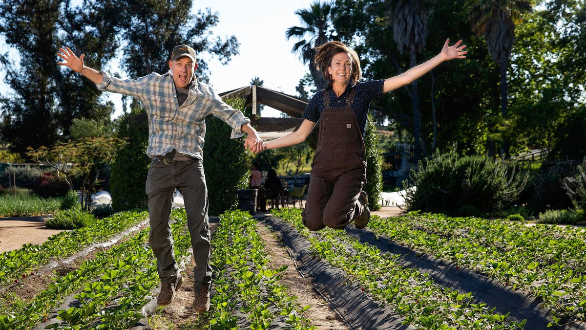 John and Molly Chester took a huge leap of faith when they left city life to start a farm in Ventura County, California.  Photo Source