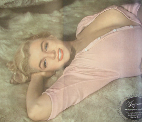 Esquire 1951 photo of Marilyn