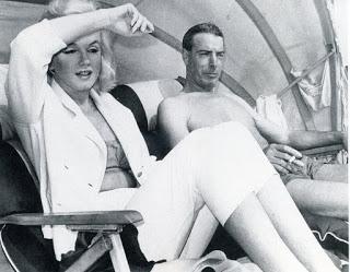 Marilyn with Joe DiMaggio (1962)