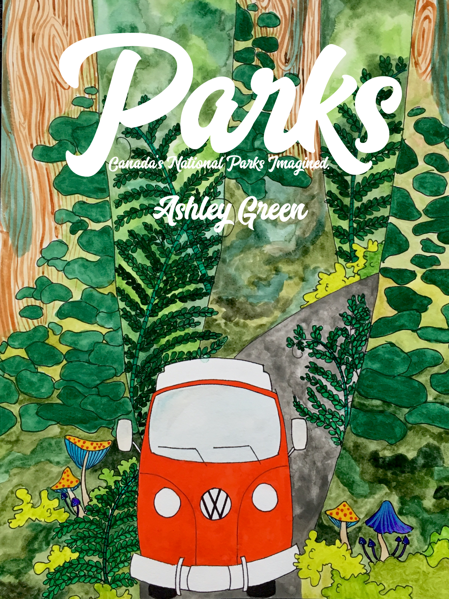 children and adults alike will love this new picture book which includes vibrant and whimsical illustrations of canada's national parks and one toally awesome hippie van. - PARKS Canada's National Parks Imagined is a limited edition book series. Get your copy now before disappear!