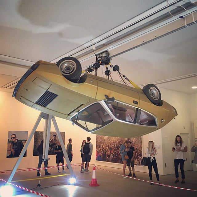 Justin Piperger at Sweet Harmony #raveculture #artcar #saatchigallery #rave