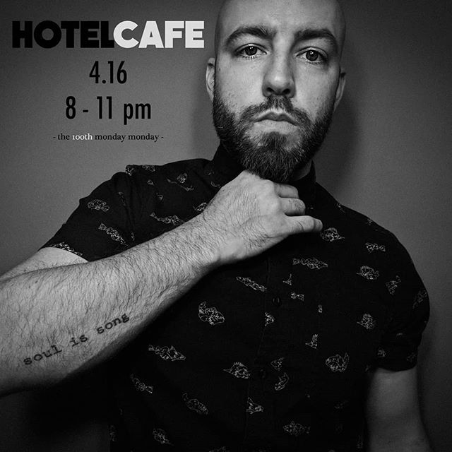 The 100th Monday Monday at Hotel Cafe Second Stage. Come join us and bring your party hat!
