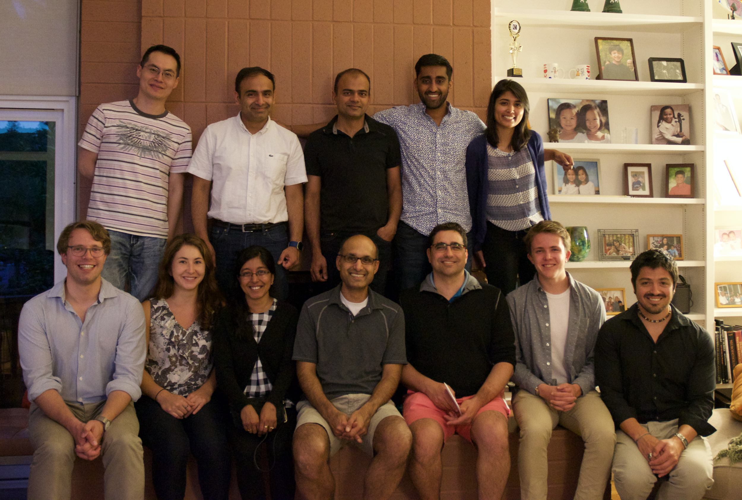 Farewell party for a few Rohatgi lab members
