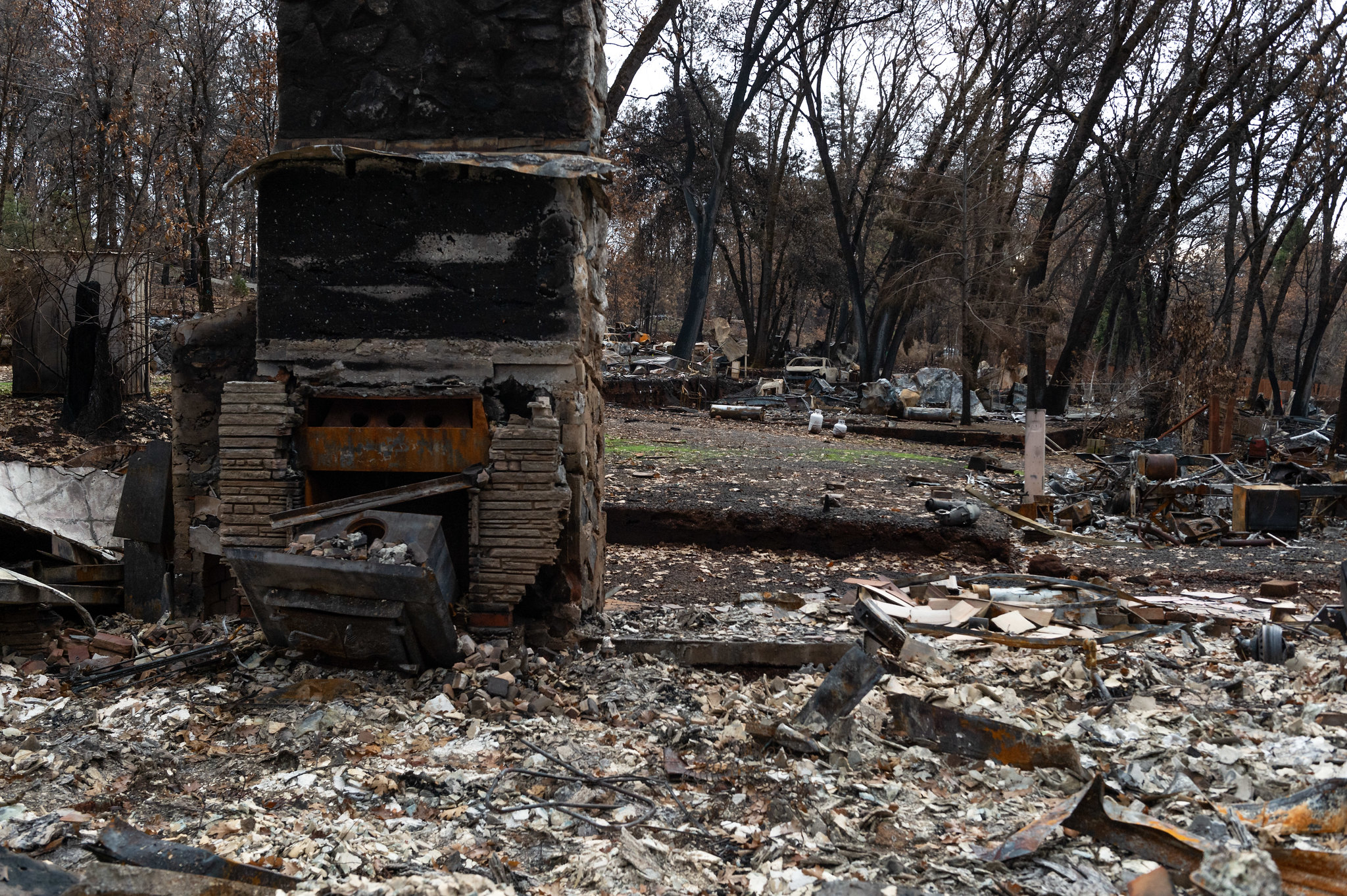 """Camp Fire Aftermath"" (December 18, 2018). CC by  Cal OES -NC 2.0."