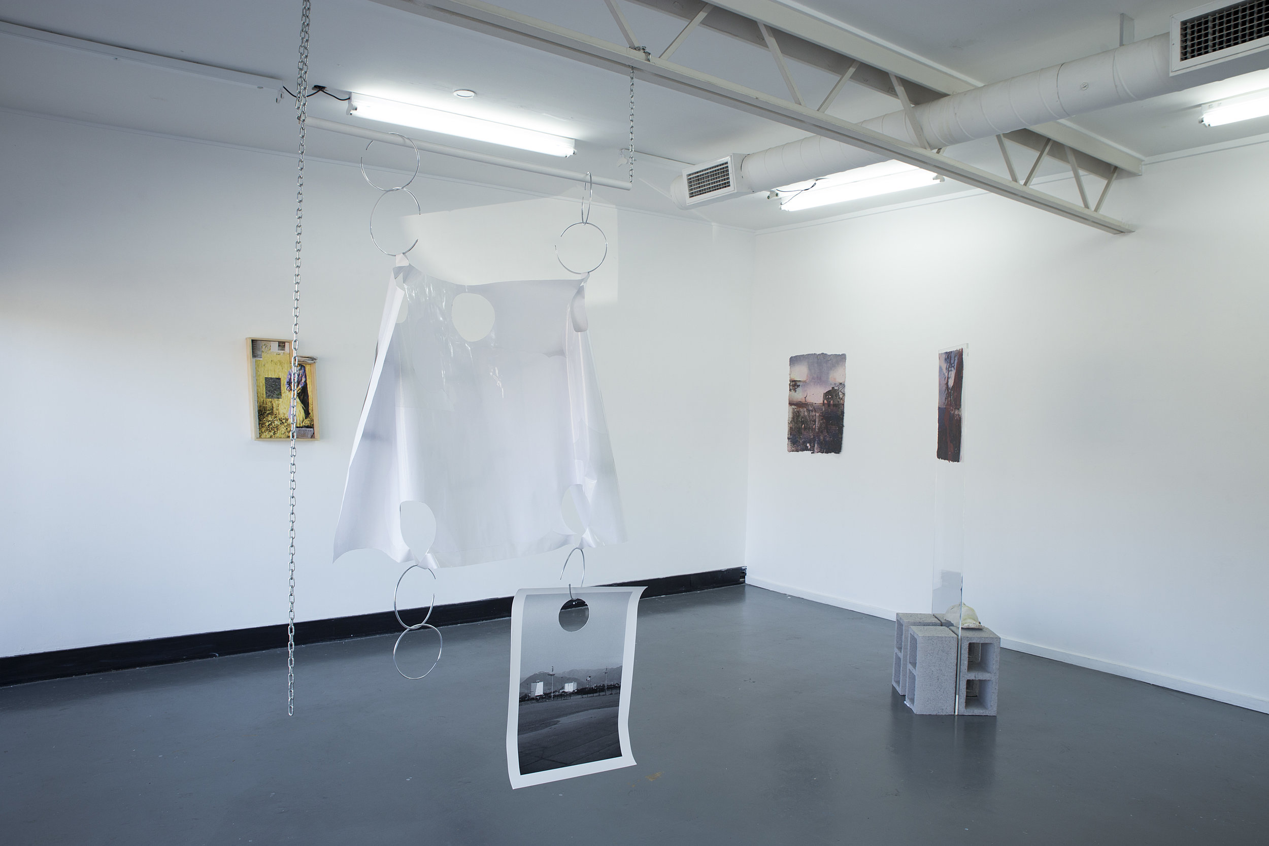 EXO at Tributary Projects curated by Seb Henry-Jones  9th-22nd of July, 2018  with Mark Mailler, Hannah Buckman, Drew Connor Holland and Aston Creus  Documentation by Esther Carlin