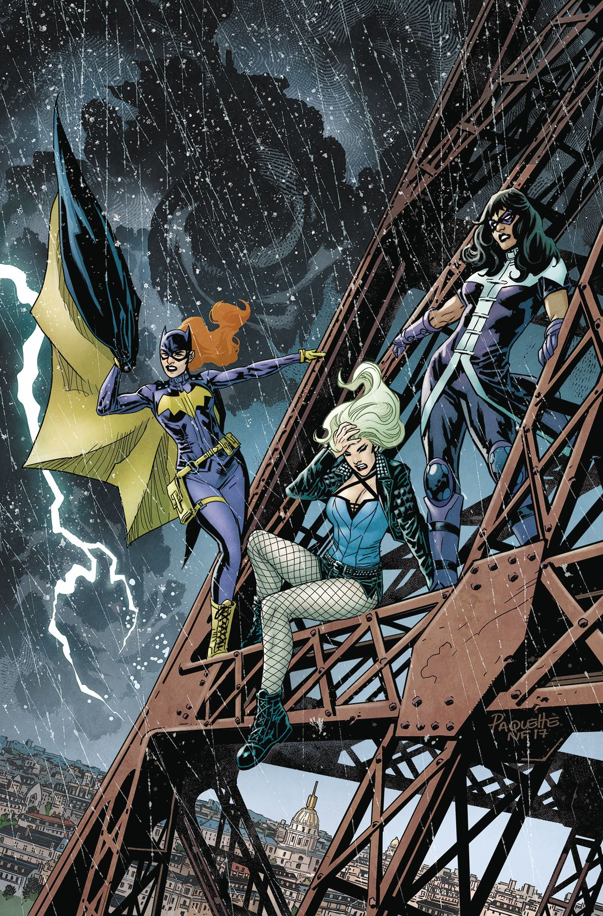 Episode 18 Cover of the Week! - (DC) Batgirl and the Birds of Prey #18Cover by Yanick PaquetteWritten by Shawna Benson and Julie BensonIllustrated by Marcio TakaraDid the Content Match the Drapes? - No