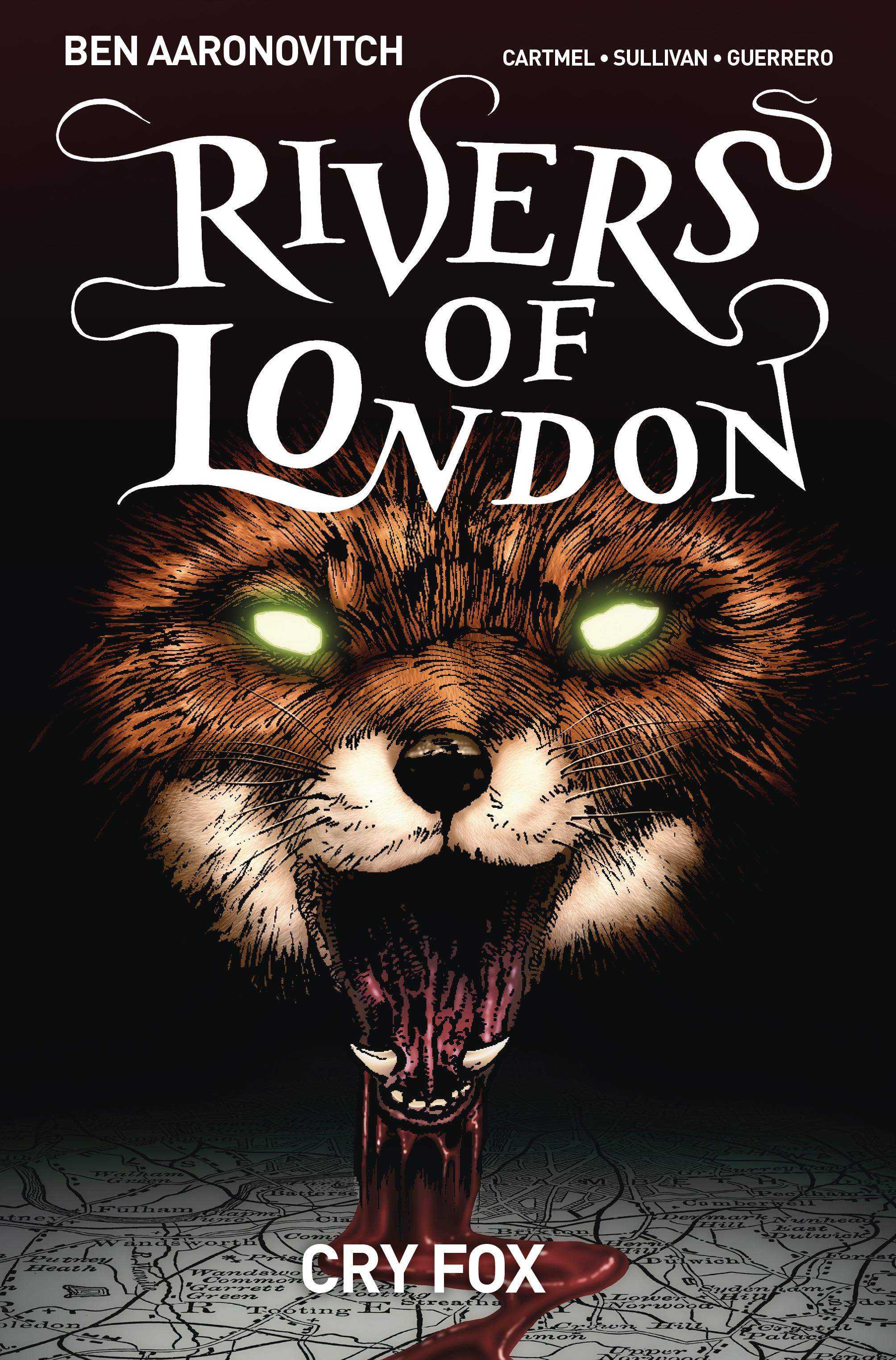 Episode 10 Cover of the Week! - (Titan Books) Rivers of London: Cry Fox #1Cover by Lee Sullivan and Luis GuerreroWritten by Ben Aaronovitch and Andrew CartmelIllustrated by Lee Sullivan and Luis GuerreroDid the Content Match the Drapes? - No :'(