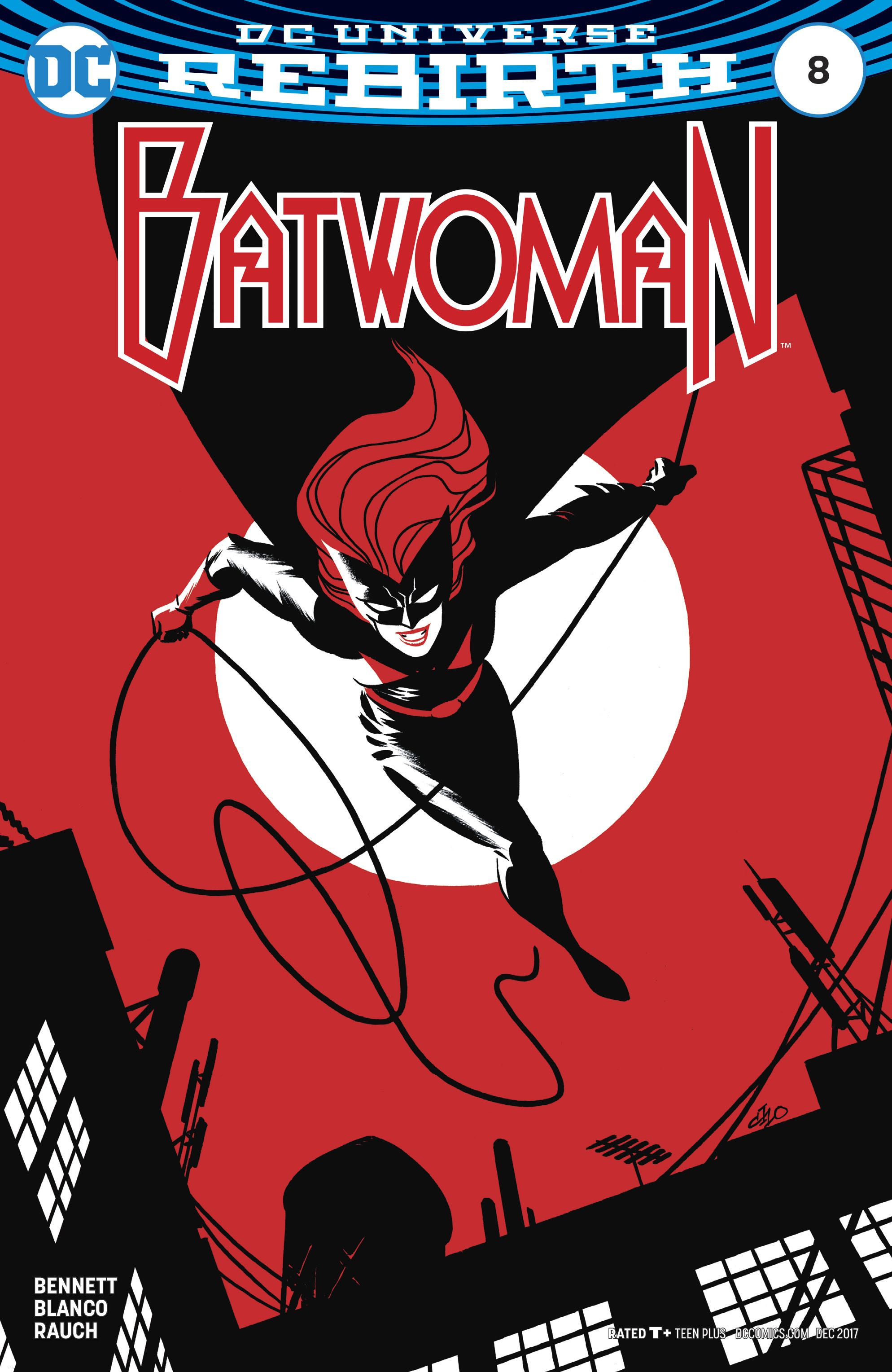 Episode 7 Variant of the Week! - (DC) Batwoman #8 (Cho Variant)Cover by Michael ChoWritten by Marguerite BennettIllustrated by Fernando BlancoDid the Content Match the Drapes? - UNR