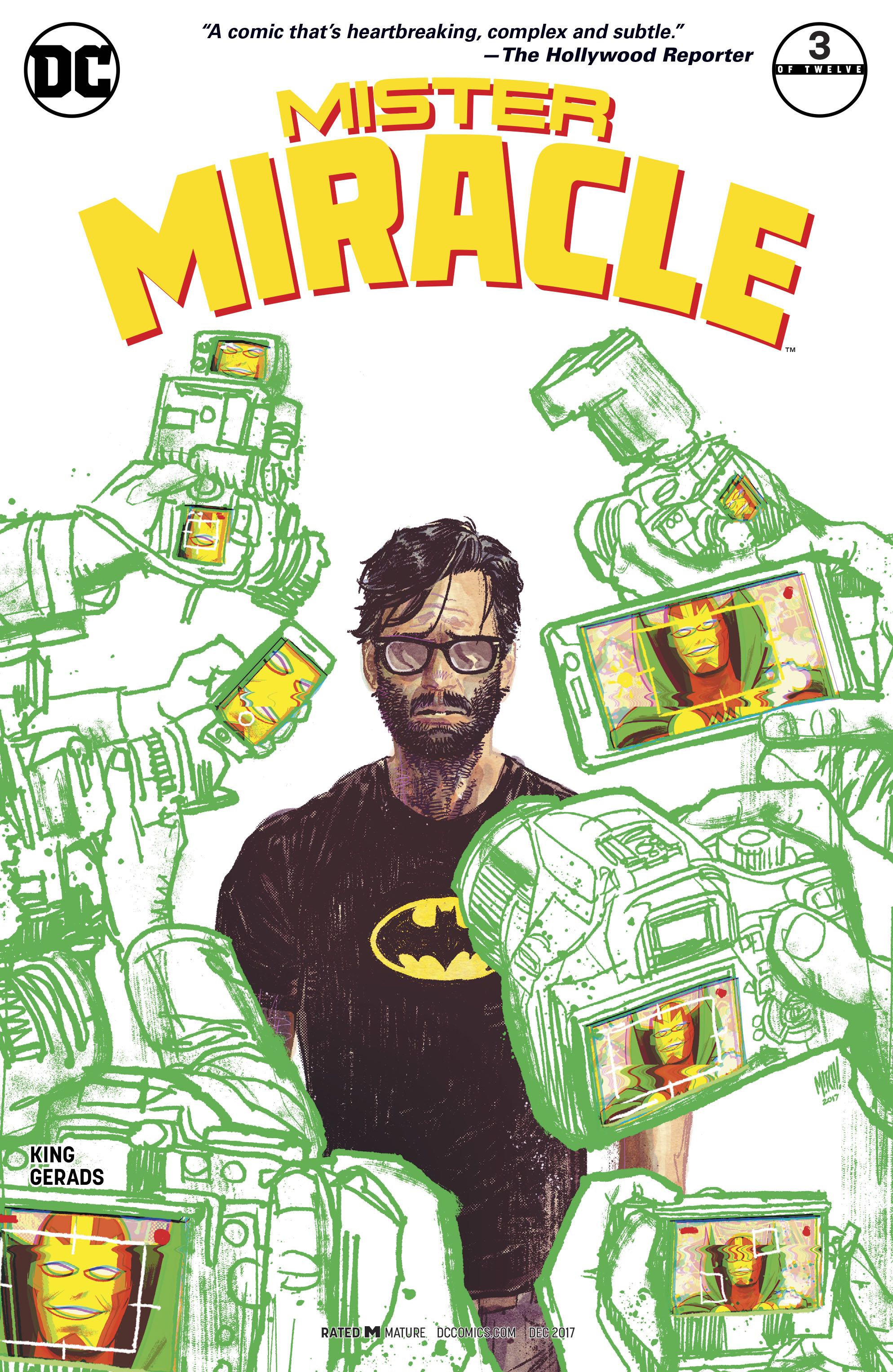 Episode 6 Variant of the Week! - (DC/Vertigo) Mister Miracle #3Cover by Mitch GeradsWritten by Tom KingIllustrated by Mitch GeradsDid the Content Match the Drapes? - YES!