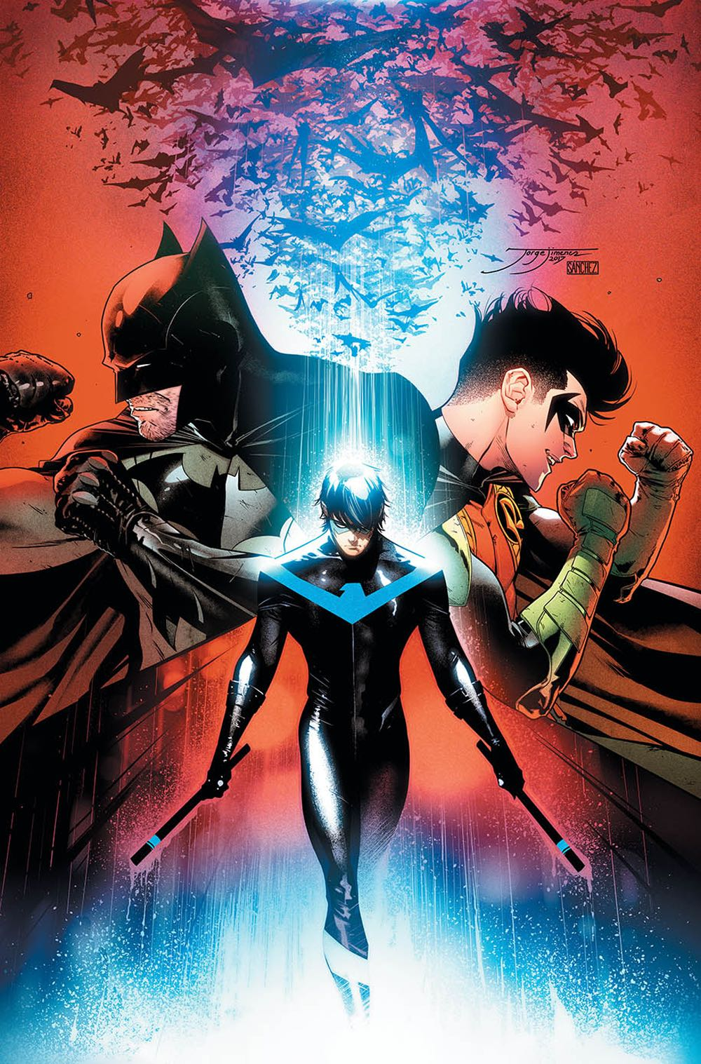 Episode 19 Cover of the Week! - (DC) Nightwing #37Cover by Jorge JimenezWritten by Sam HumphriesIllustrated by Klaus JansonDid the Content Match the Drapes? - Absolutely not :'(