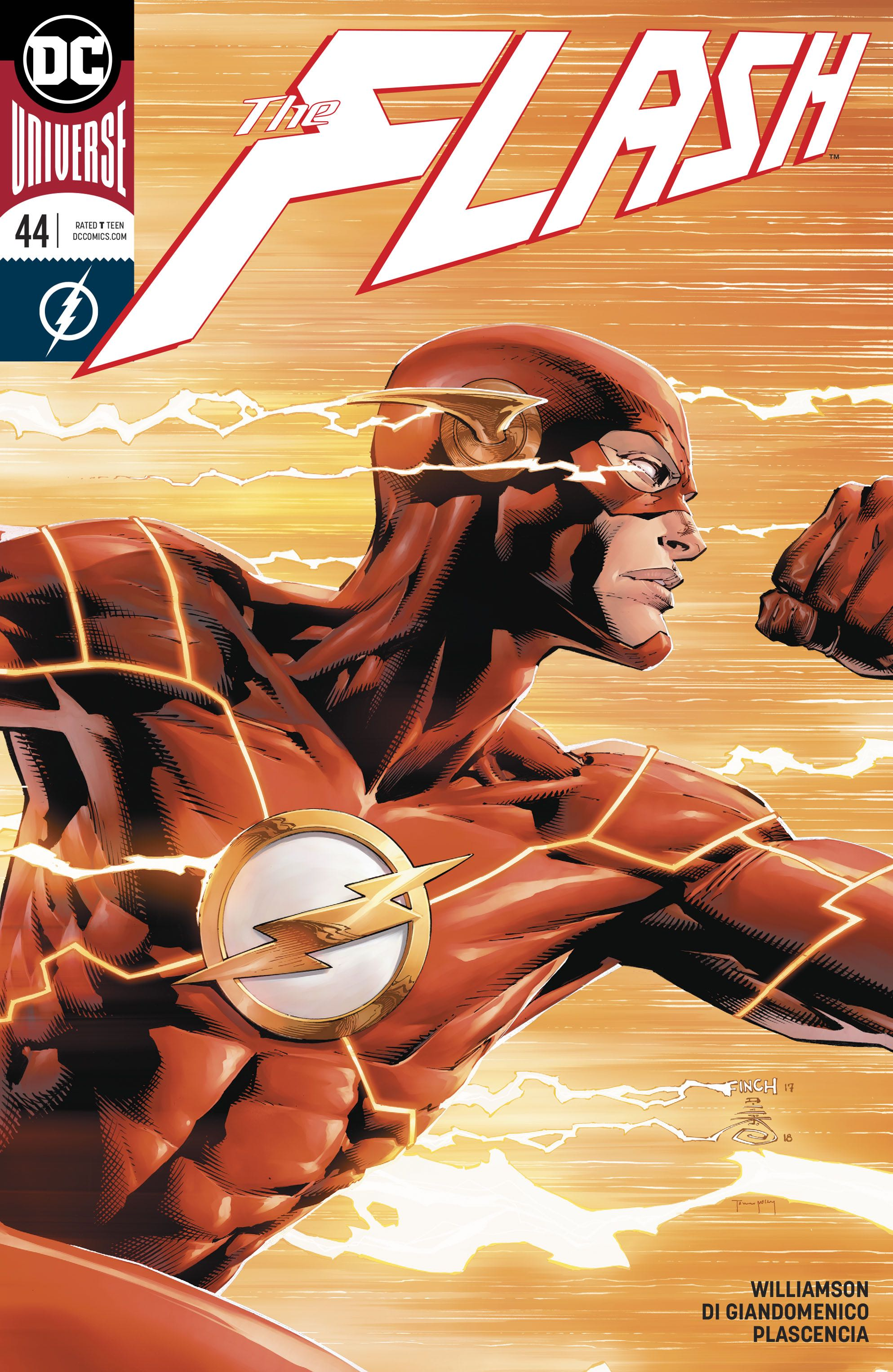 Episode 29 Variant of the Week! - (DC) The Flash #44 (Variant)Cover by David Finch and Danny MikiWritten by Joshua WiiiamsonIllustrated by Carmine Di GiandomeniioDid the Content Match the Drapes? - UNR