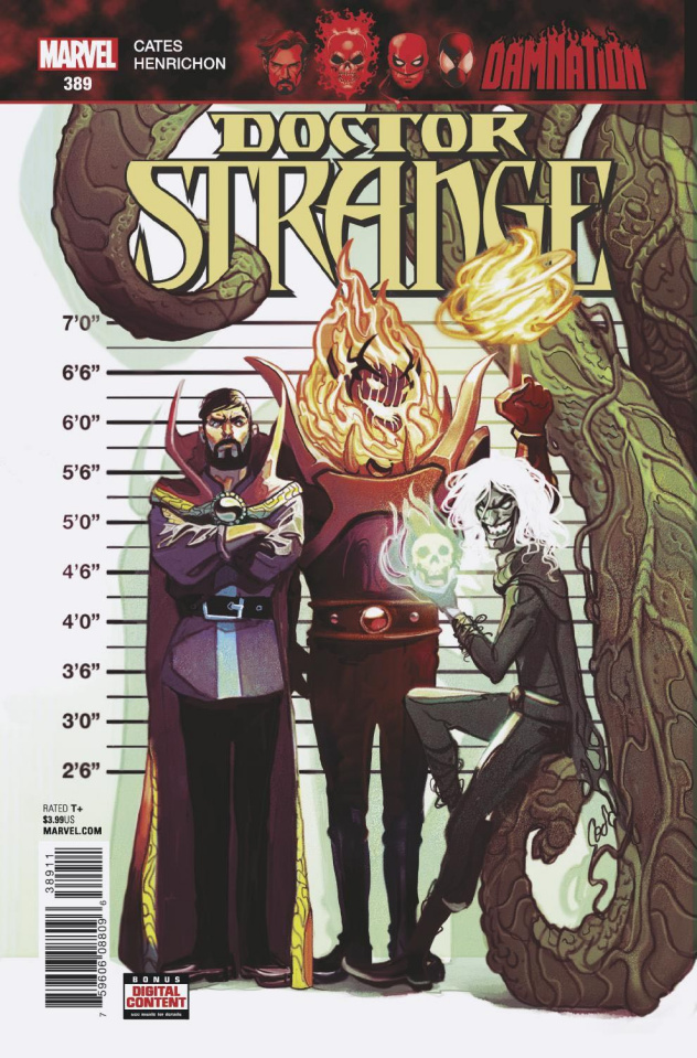 Episode 31 Cover of the Week! - (Marvel) Doctor Strange #389Cover by Michael Del MundoWritten by Donny CatesIllustrated by Niko HenrichonDid the Content Match the Drapes? - UNR