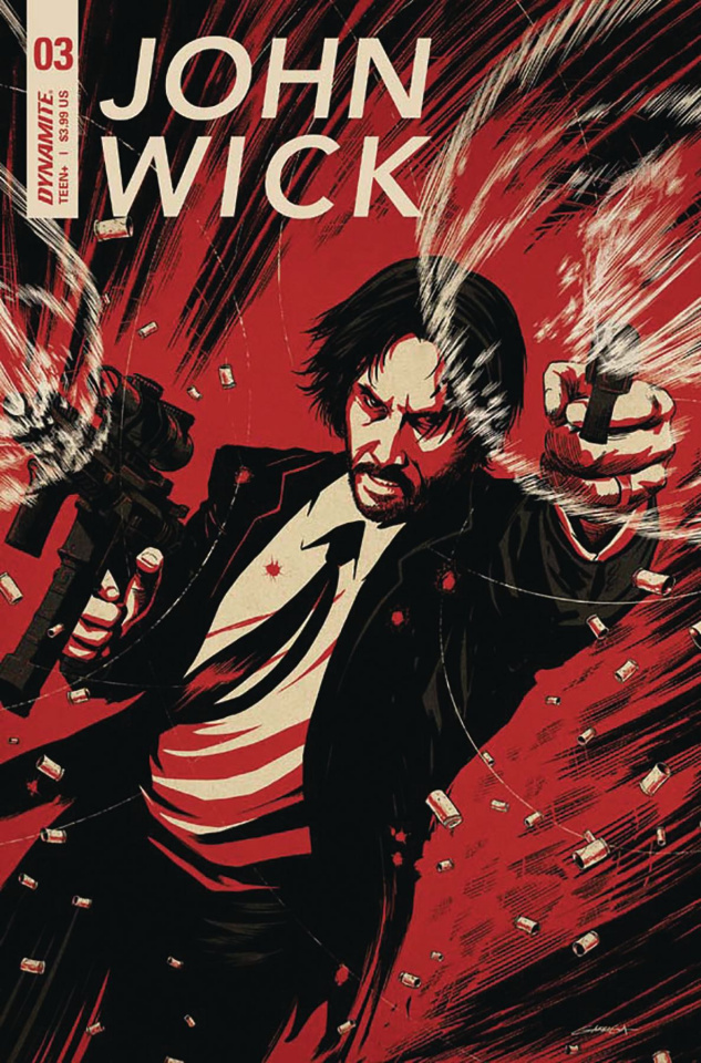 Episode 33 Variant of the Week! - (Dynamite) John Wick #3 (B Variant)Cover by Ben GarrigaWritten by Greg PakIllustrated by Giovanni VallettaDid the Content Match the Drapes? - UNR