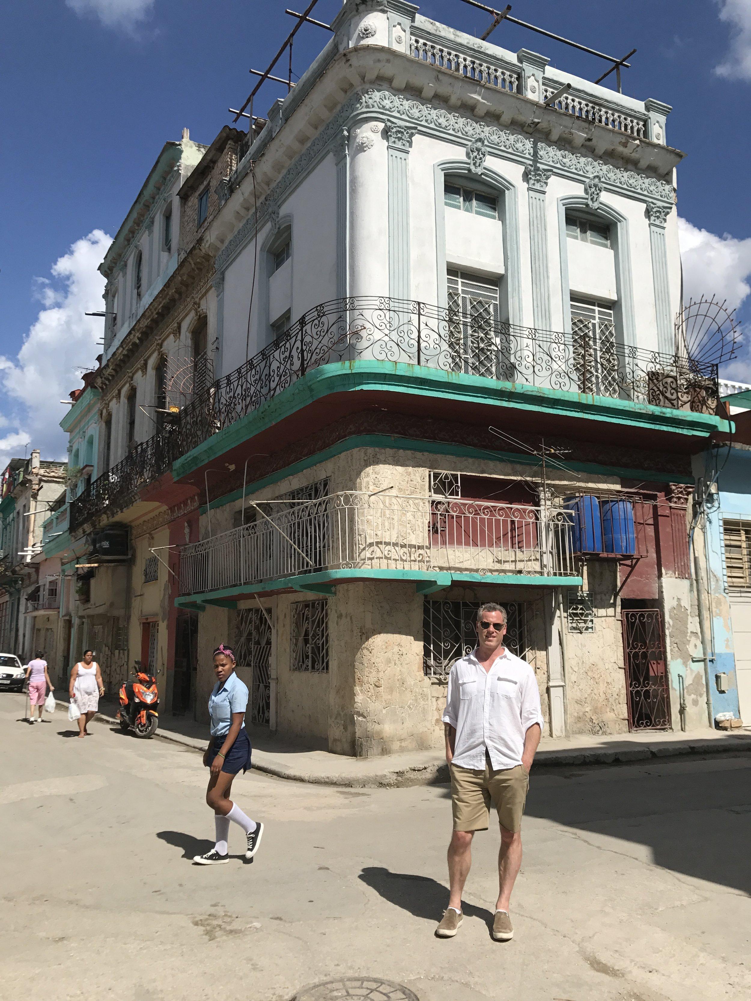 - Ian in Havana, Cuba