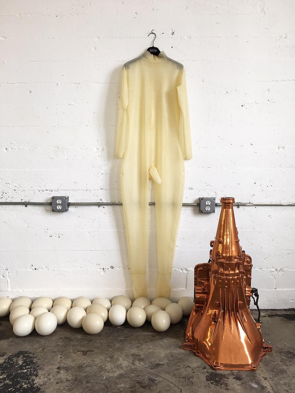 Future Suit, Ostrich Eggs, Copper Transmission
