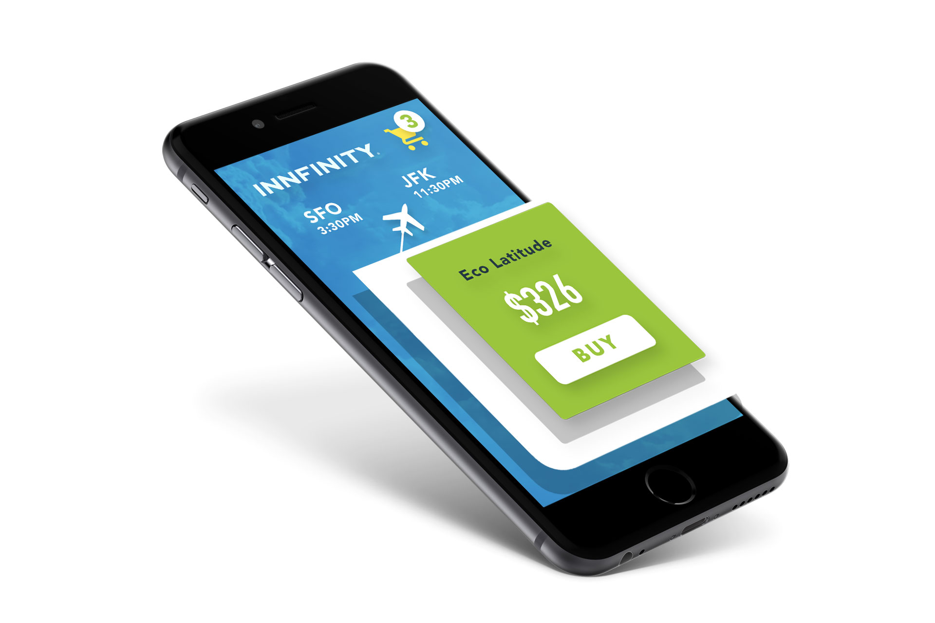Book travel from any device. - The Innfinite online booking tool's responsive design enables your travelers to access and book all available fares from their mobile device.