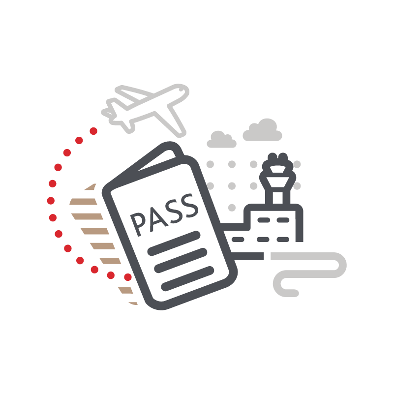 Flight Passes - Add or remove names. Combine multiple Passes on one itinerary. Track payment.