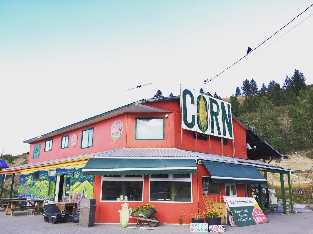 We made our first (and last) visit to the Golden Ears Fruit Stand.  We were sorry to learn that it was closing down due to the highway expansion.