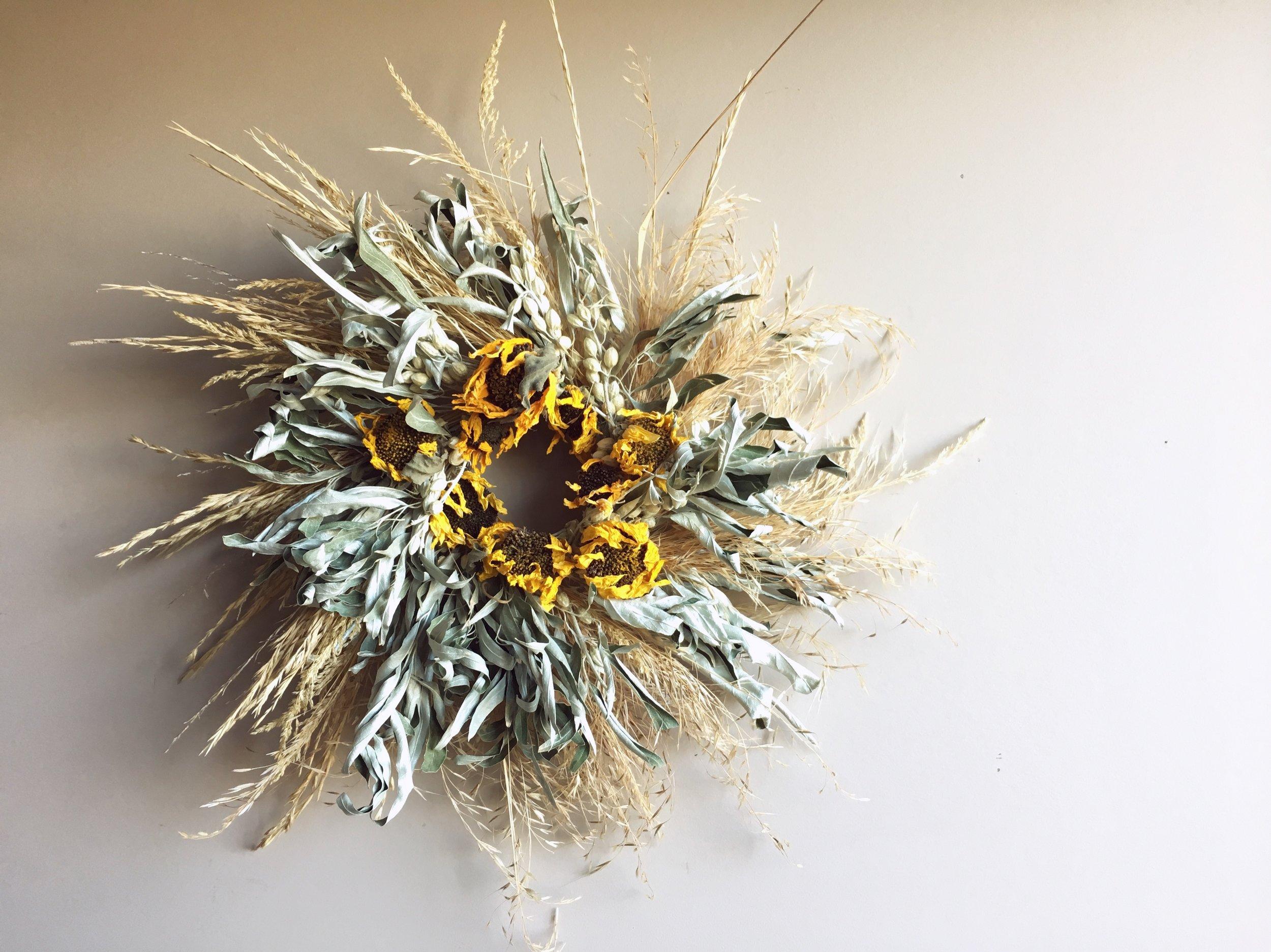 Autumn Forage Wreath.