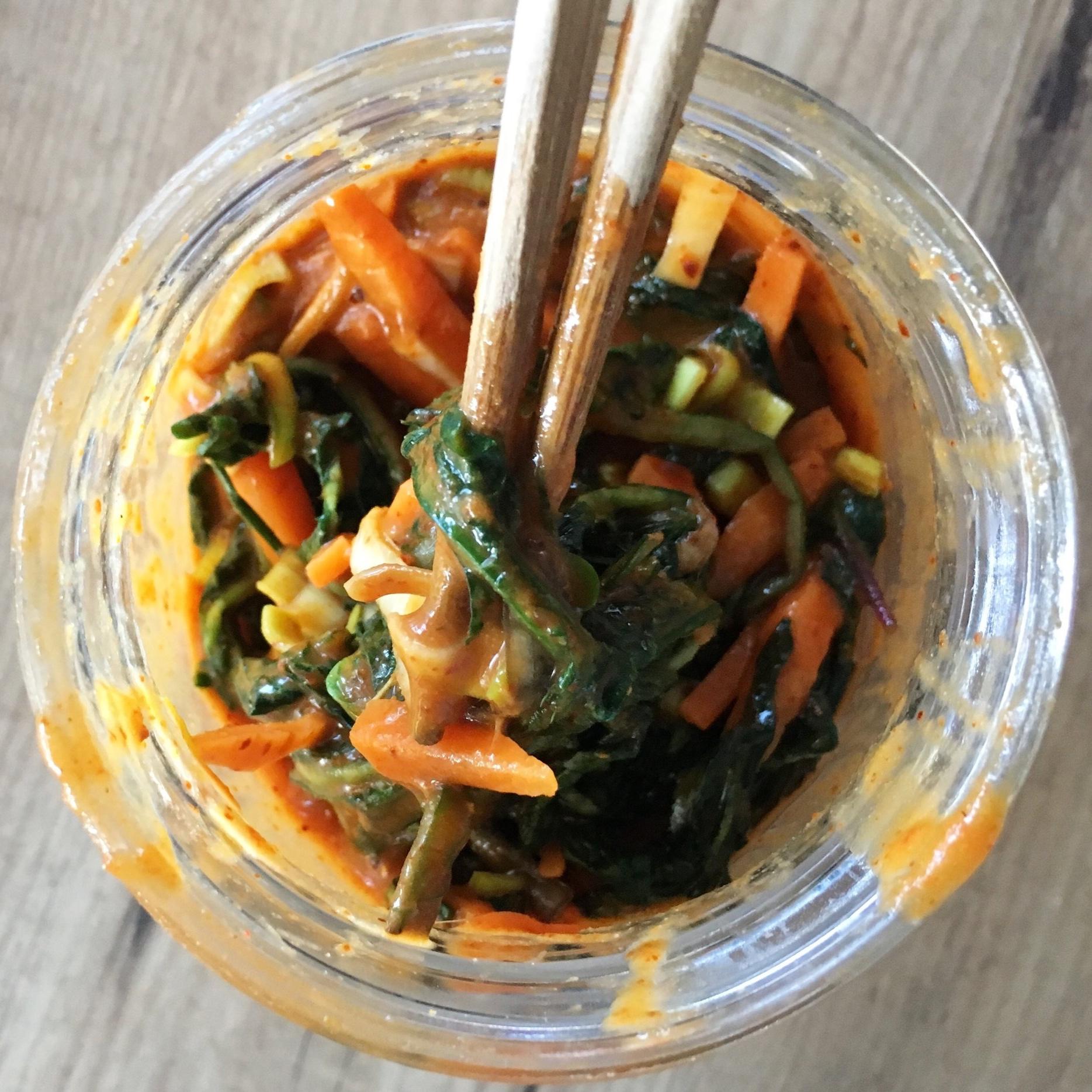 Dandelion Leaf Kimchi
