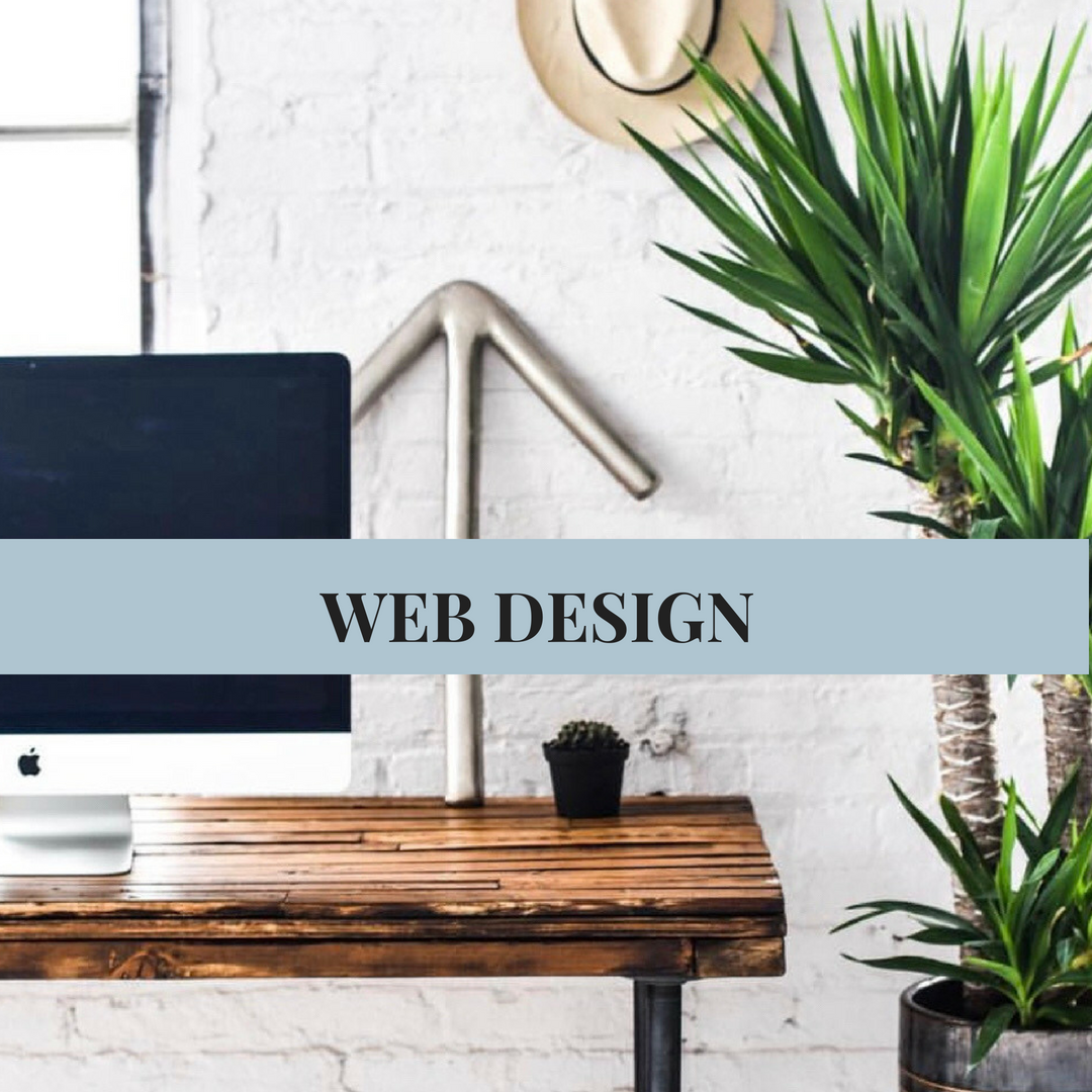 WEB DESIGN    Creating a unique space online to be the home of our business or blog is important. You want to make sure it stands out in the seemingly never-ending sea of social platforms, while remaining professional and edgy