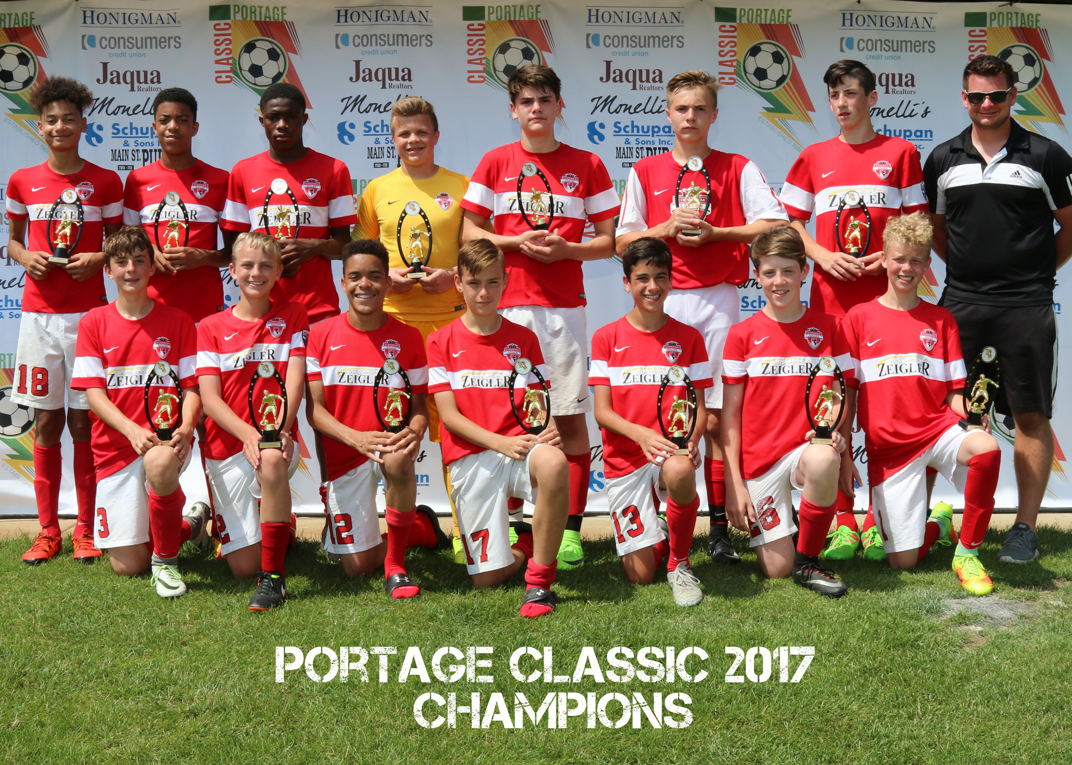 Boys U14 Gold