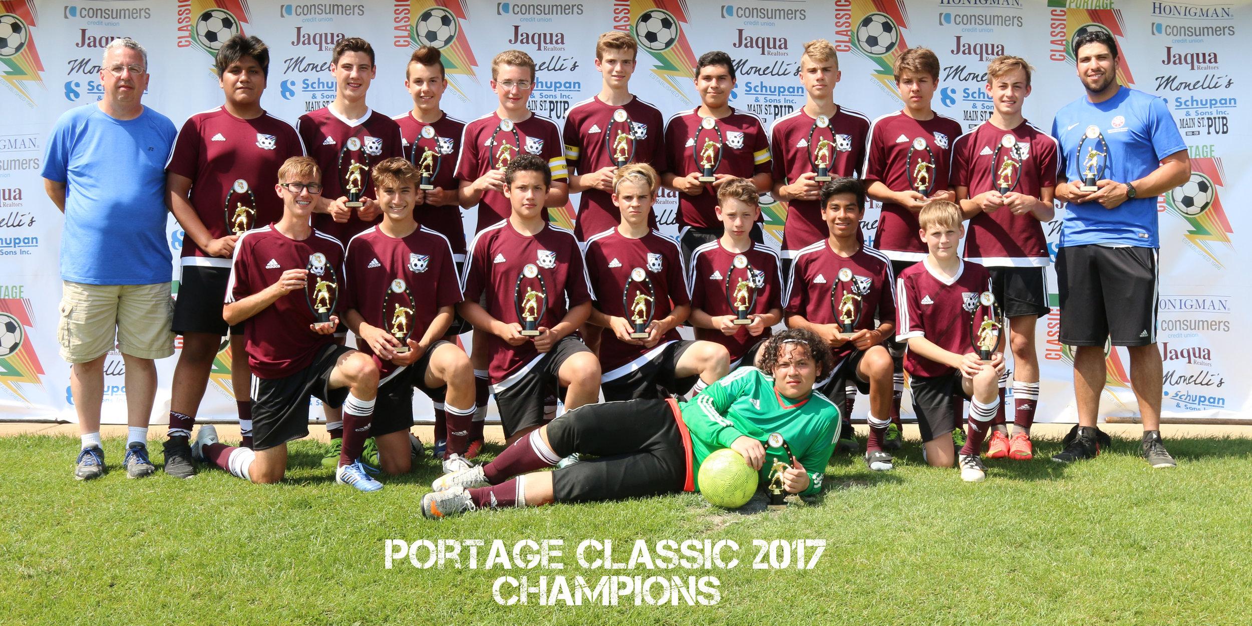 Boys U16 Gold