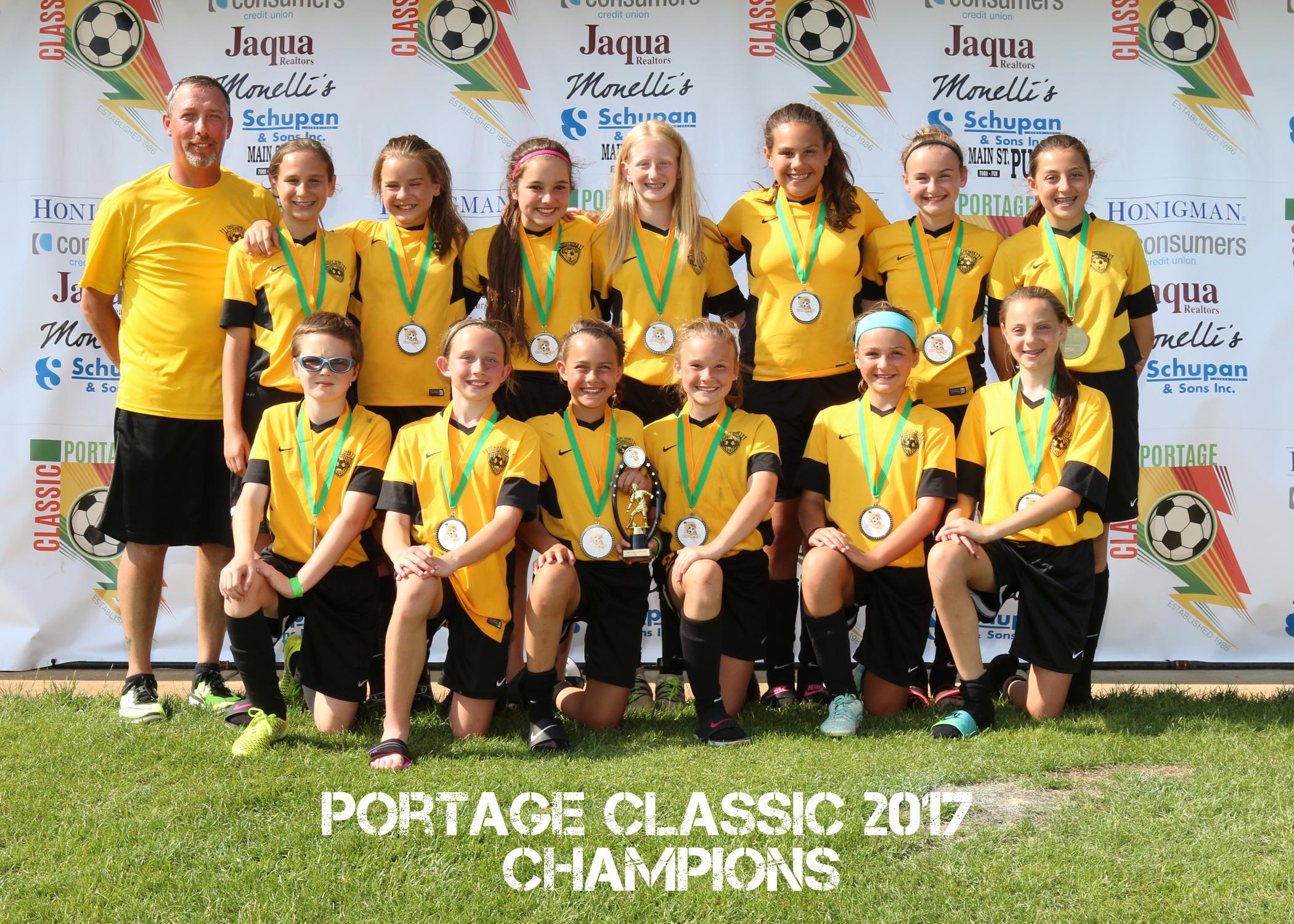 Girls U12 Gold