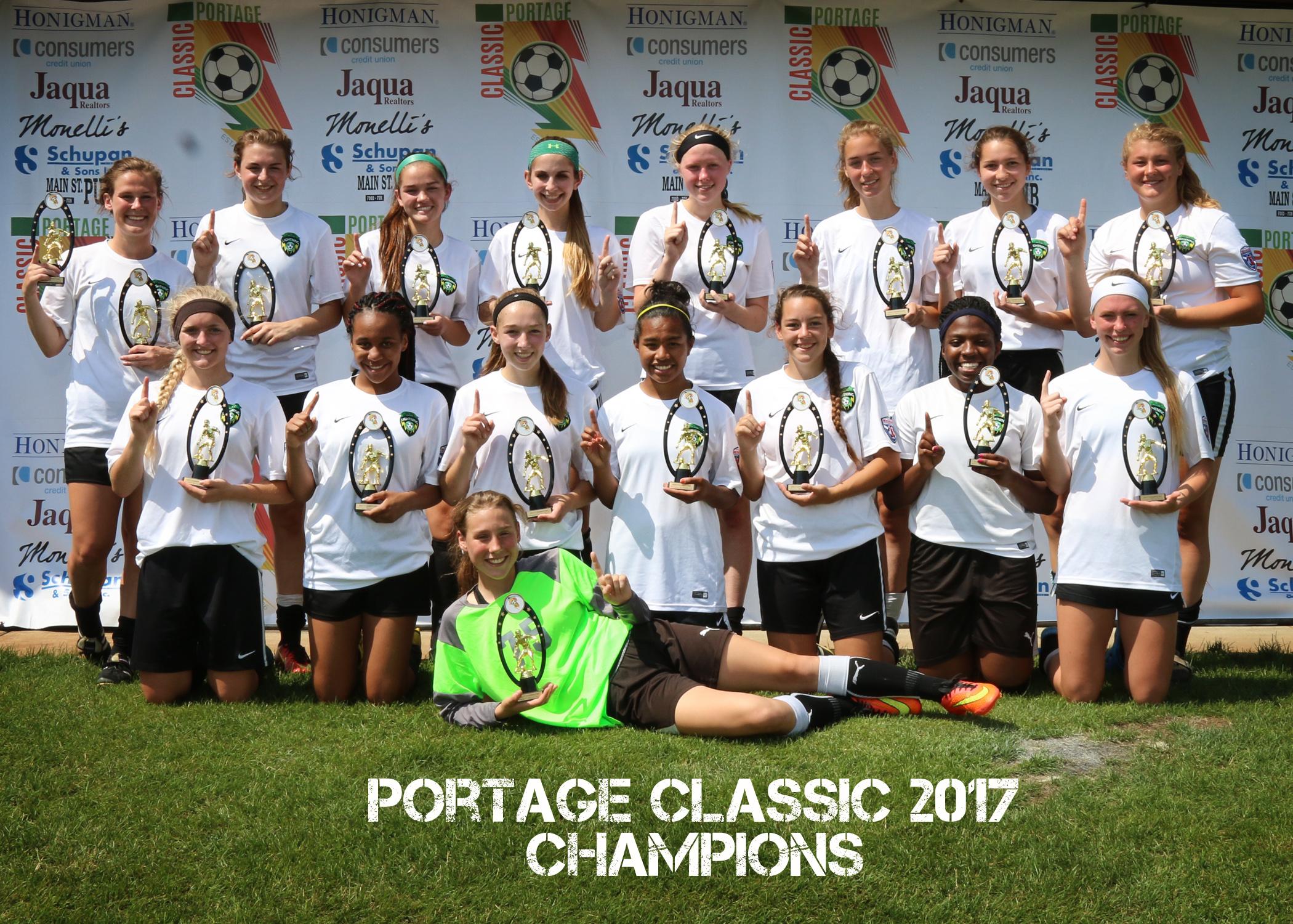 Girls U18 Gold