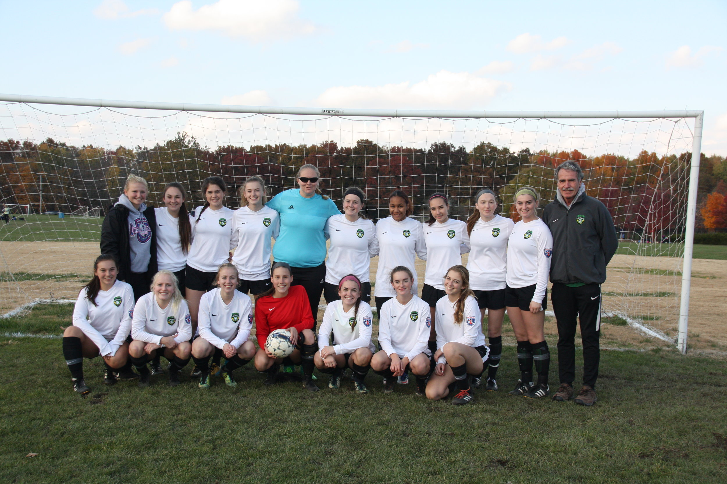 PSC 00 Green Girls Team